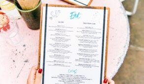 레스토랑 메뉴판, 해외 외식 때 활용할 수 있는 표현들