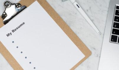 영문 이력서, 취업 준비의 필수 관문 resume 작성하기!
