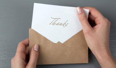 【信件英文】實用商務英文!教你如何在郵件中表達感謝