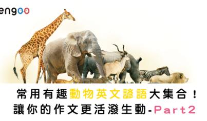 【英文片語】常用有趣動物英文諺語大集合!讓你的作文更活潑生動 Part2